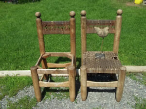 Primitive Style Chairs