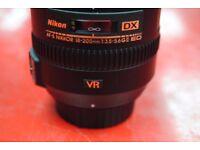 Nikon AF-S NIKKOR 18-200mm 1:3.5-5.6 G II ED DX £450