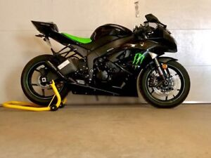 **NEXT TO NEW** 2009 KAWASAKI ZX6R MONSTER EDITION (2700KM)