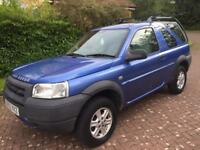 1 year mot Land Rover freelander 2ltr td4 gs BMW engine low miles 78k may px?
