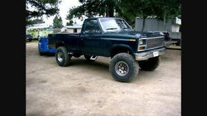 Wanted 80-86 ford 4x4
