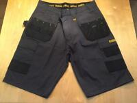 Dewalt multi-pocket shorts - brand new 34 waist
