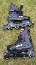 Childs Bauer roller blades for sale. Size 6