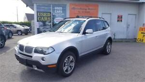 2008 BMW X3 3.0i AWD - Panoramic Roof, Alloys, Heated Seats