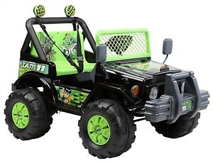 New Two Seater 12V Electric Child Ride On w Remote Lights more