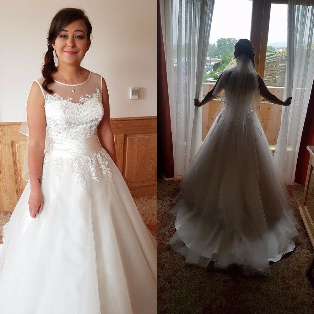 Wedding dress sweetheart 6007 size 12 in belfast city for Best wedding dresses for size 12