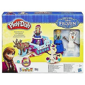 NEW: OPENED BOX Play-Doh Frozen Sled Adventure Playset - $15