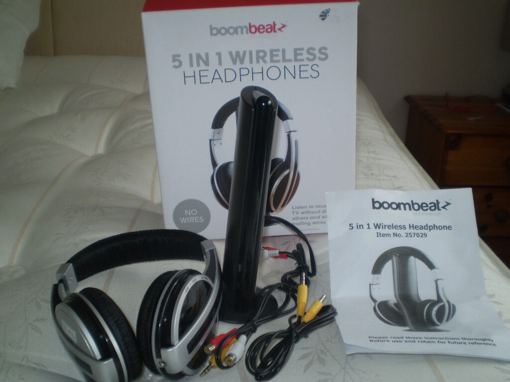 BOOM BEAT 5 in 1 wireless headphones | in Southampton, Hampshire ...