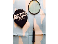 Badminton Yamaha carbon composite racket, bargain £25,I'v got some other rackets available