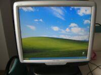 "19"" DVI and VGA Monitors x 5"