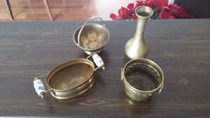 4 Different types of brass ornaments