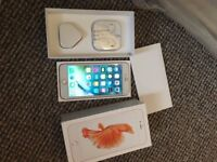 iphone 6s plus rose gold 64gb unlocked boxed with all accessories selling as upgraded great conditio