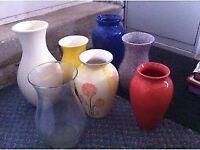 Vases Various Colours