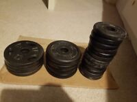 small weight plates for sale 0.5 - 1kg plates