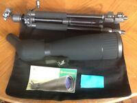 Bresser spotting scope/ telescope, as new.