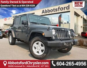 2016 Jeep Wrangler Unlimited Sport ACCIDENT FREE!