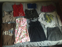 Assorted women's clothing, UK Size 6-10, Used, Topshop, Warehouse, Hollister & more