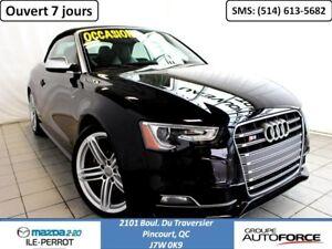 2013 Audi S5 CABRIOLET, UN PROPRIO