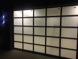 New garage doors and openers