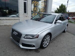2009 Audi A4 QUATTRO NAVIGATION BACKUP CAMERA LEATHER SUNROOF