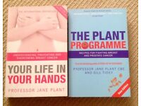 The Plant Programme / Your Life in Your Hands by Jane Plant