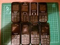 Job lot of Samsung phones