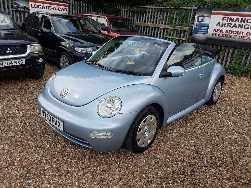 2003 volkswagen beetle 1 9 tdi cabriolet with 12mths mot
