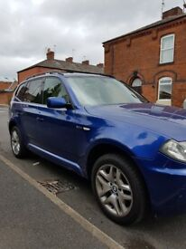 A Beautiful BMW X3 with Full Sevice History, 1 Year MOT and comes with Warrenty
