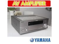 YAMAHA 7.1 DOLBY SURROUND CINEMA SOUND AMPLIFIER AMP PRO LEVEL SOUND EFFECTS CRYSTAL CLEAR SOUND a1