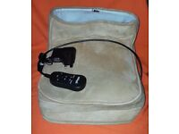 Aidapt Heated Foot Warmer with Dual Speed Massage VM949J