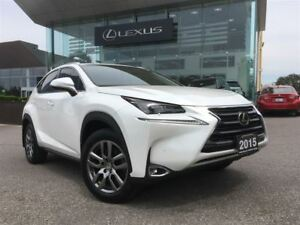 2015 Lexus NX 200t Luxury Pkg AWD Navi Back Up Cam Leather Sunro