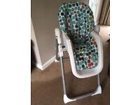 Mamas and Papas high chair great condition