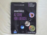 Advanced Maths: A2 Core Mathematics for Edexcel (A Level) [0-582-84236-0]