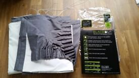 Dark Grey Blackout Curtains - Original packaging, perfect condition