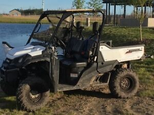 Like New 2016 Honda Pioneer 1000
