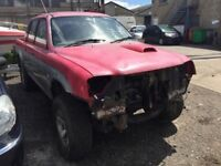2003 Mitsubishi L200 2.5 diesel, non runner, was a project, been stripped, loads of parts inside veh