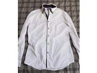 Next Men's White Slim-fit Shirt