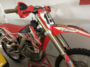 For sale:2014 250 Honda race bike