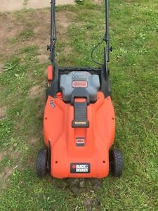Battery lawn mower and whipper snipper
