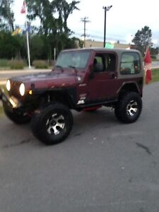 2003 jeep tj with 120k
