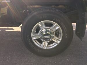 Orongial Ford Rims and Tires  265/70/17