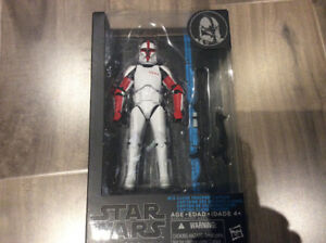 "Star Wars Black Series 6"" Clone Trooper Captain #13"