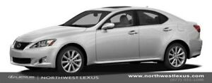 2012 Lexus IS 250 LEATHER WITH MOONROOF PACKAGE