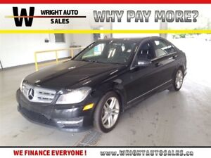 2013 Mercedes-Benz C-Class 4MATIC LEATHER HEATED SEATS 76,592 KM