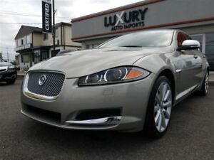 2013 Jaguar XF V6-AWD-NAV-CAMERA-ONLY 51 k