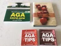Collection of Aga cookbooks