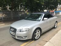 2007 Audi A4 Cabriolet 2.0 German Diesel Convertible, Well Maintained HPi & Vosa Cleared Only £2995