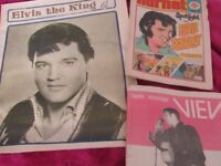 ELVIS BOOKS, MAGS, NEWS PAPERS
