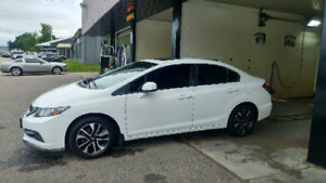 2013 civic ex rims with hankook tires for sale