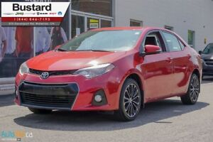 2015 Toyota Corolla S | HEATED SEATS | CAMERA | LEATHER |